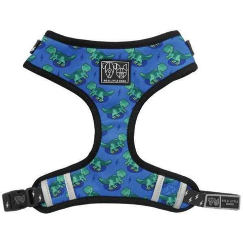 Big & Little Dogs Rawr Adjustable Harness-DoggyTopia