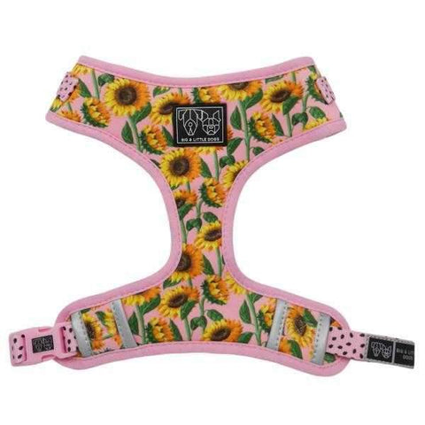 Big & Little Dogs You Are My Sunshine Adjustable Harness-DoggyTopia