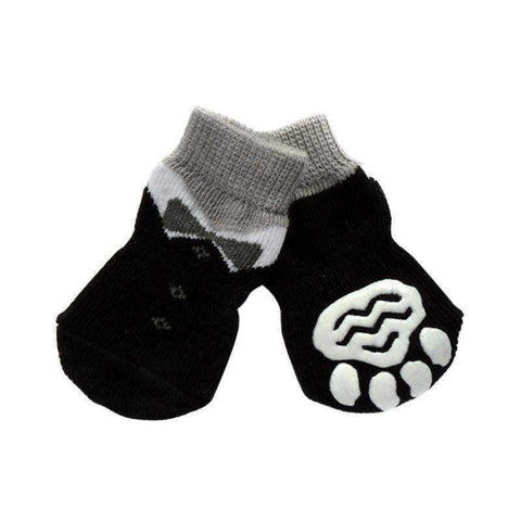 Image of Bow Tie Suit Dog Socks-DoggyTopia