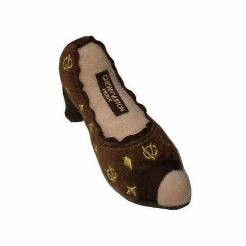 Image of Chewy Vuiton Shoe Dog Toy-DoggyTopia