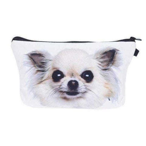 Image of Chihuahua Cosmetic Bag-DoggyTopia