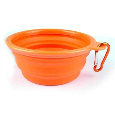 Collapsible Travel Dog Bowl-DoggyTopia