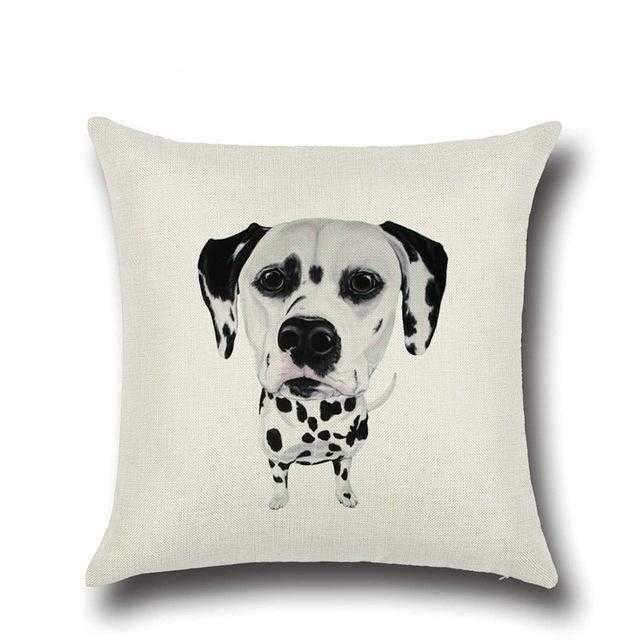 Dalmatian Throw Cushion-DoggyTopia
