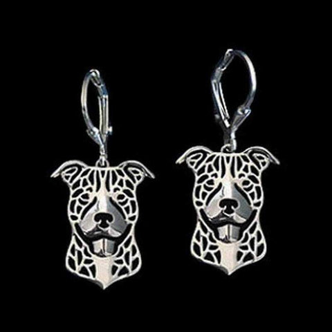 Dog Earrings - American Staffy-DoggyTopia