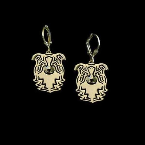 Image of Dog Earrings - Border Collie-DoggyTopia