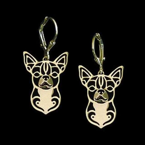Image of Dog Earrings - Chihuahua-DoggyTopia