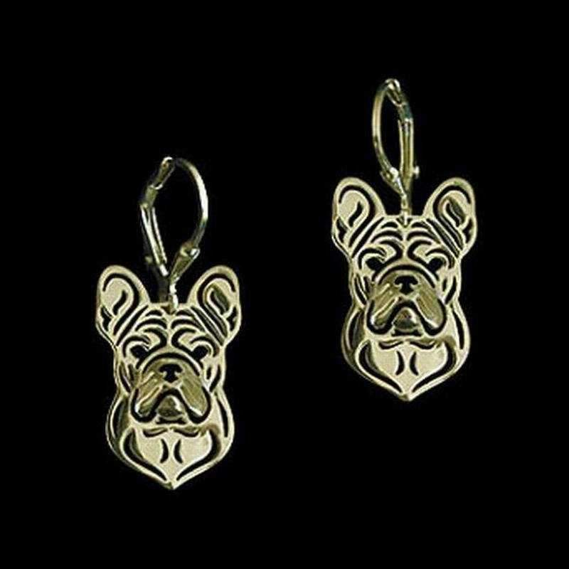 Dog Earrings - French Bulldog-DoggyTopia