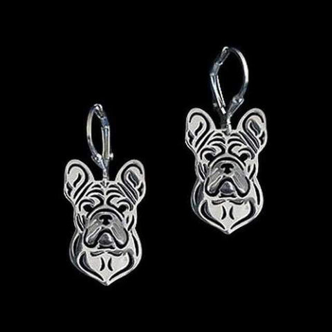 Image of Dog Earrings - French Bulldog-DoggyTopia