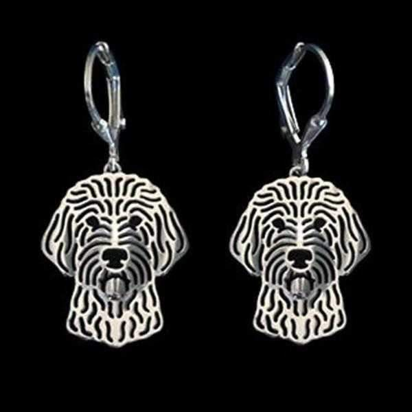 Dog Earrings - Golden Doodle-DoggyTopia