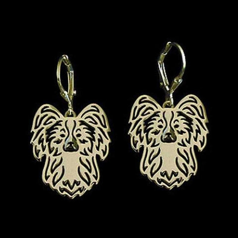 Image of Dog Earrings - Papillon-DoggyTopia