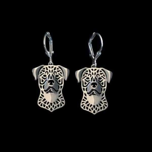 Dog Earrings - Rottweiler-DoggyTopia