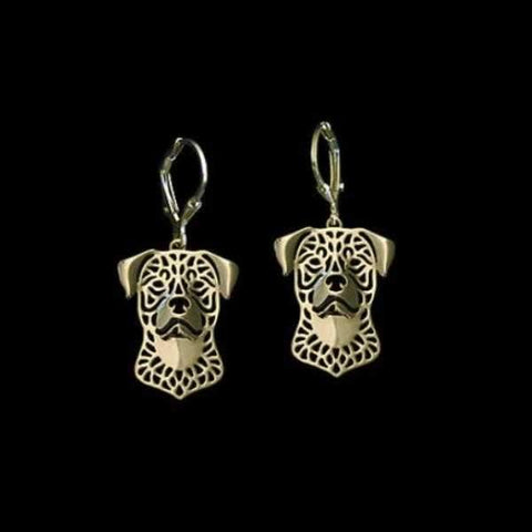 Image of Dog Earrings - Rottweiler-DoggyTopia