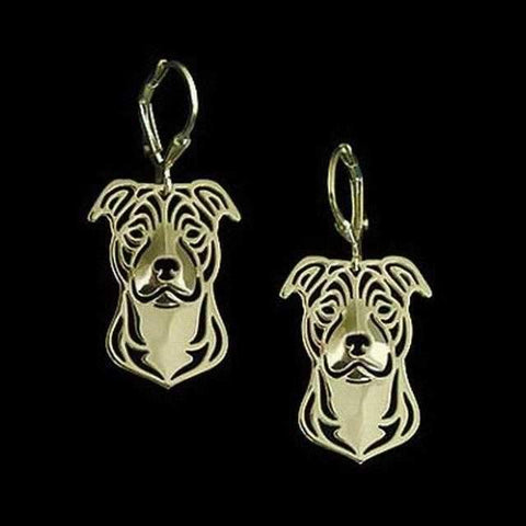 Dog Earrings - Staffy-DoggyTopia