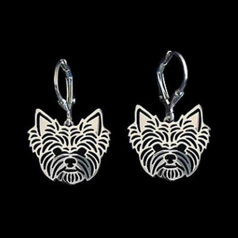 Image of Dog Earrings - Yorkshire Terrier-DoggyTopia