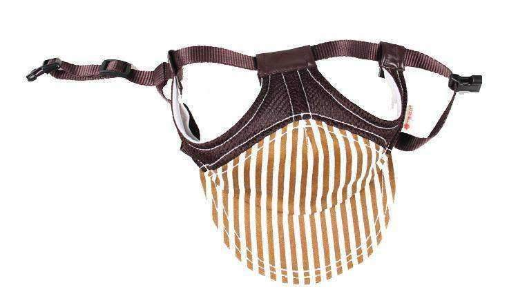Dog Hat Brown Stripe-DoggyTopia