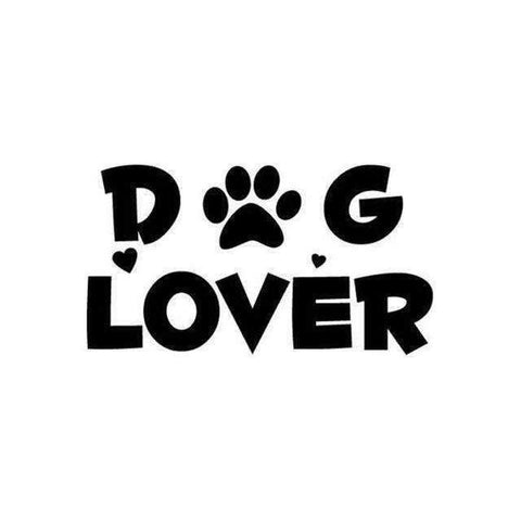 Image of Dog Lover Car Decal-DoggyTopia