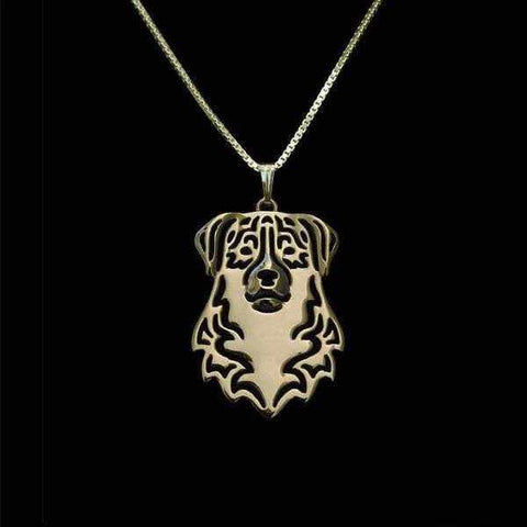 Dog Pendant Necklace - Australian Shepherd-DoggyTopia