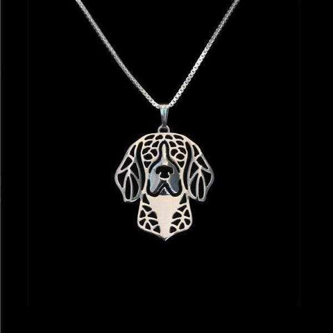 Image of Dog Pendant Necklace - Beagle-DoggyTopia