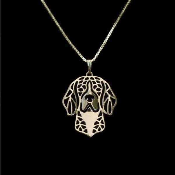 Dog Pendant Necklace - Beagle-DoggyTopia