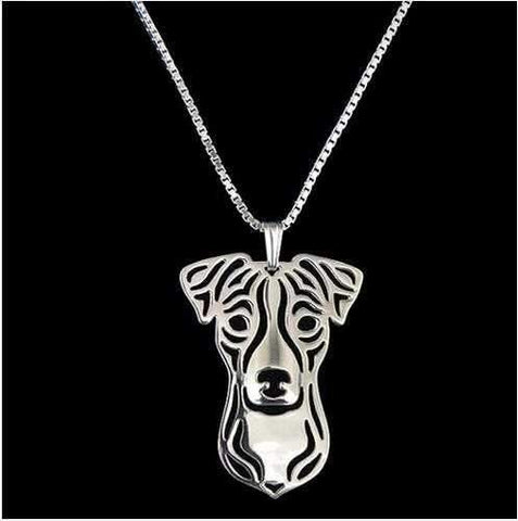 Dog Pendant Necklace - Jack Russell-DoggyTopia