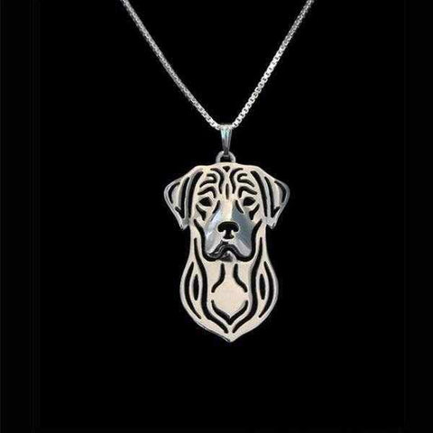 Dog Pendant Necklace - Labrador-DoggyTopia