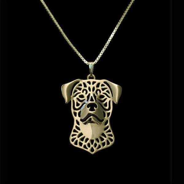 Dog Pendant Necklace - Rottweiler-DoggyTopia