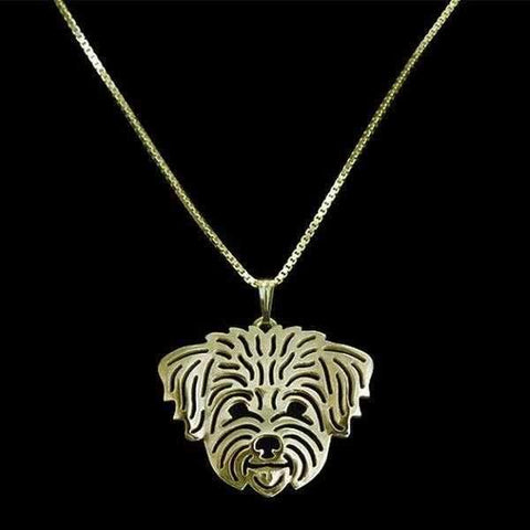 Image of Dog Pendant Necklace - West Highland Terrier-DoggyTopia
