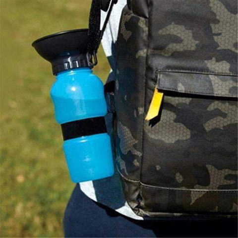 Image of Dog Travel Water Squeeze Bottle 500ml-DoggyTopia