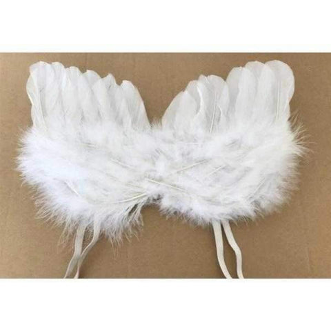 Feather Angel Wings Costume-DoggyTopia