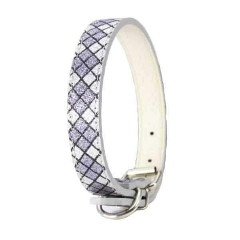 Image of Geometric Glitter Dog Collar-DoggyTopia