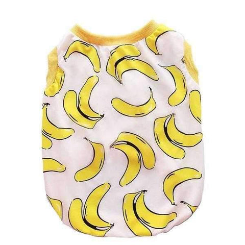 *** Going Banana's Dog Singlet @PICTURES-DoggyTopia