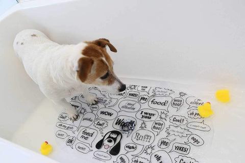 Image of Growl Towels PVC Mat Non-Slip-DoggyTopia