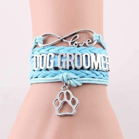 Image of Infinity Love Dog Groomer Bracelet-DoggyTopia