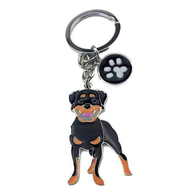 Key Ring Rottweiler-DoggyTopia