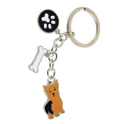 Image of Key Ring Silky Terrier-DoggyTopia