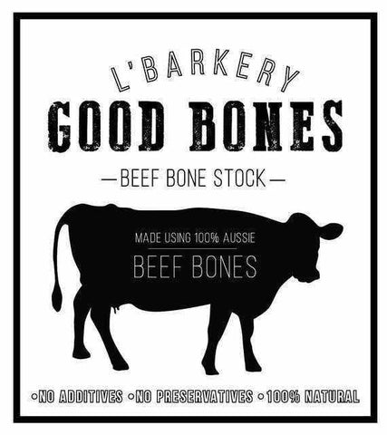 Image of L'Barkery Good Bones Broth Beef Powdered-DoggyTopia