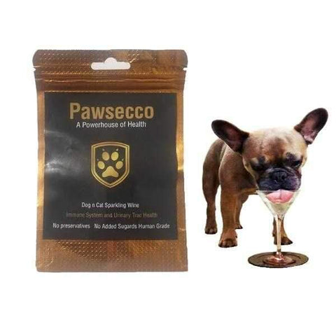 Image of L'Barkery Pawsecco Sparkling Wine + Pre Mix with Reusable Bottle-DoggyTopia