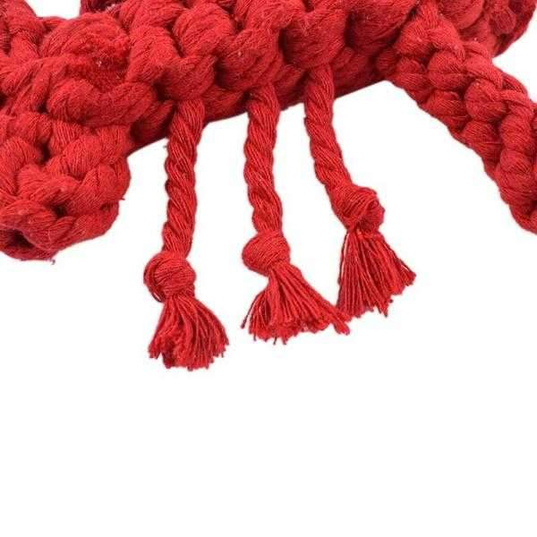 Lobster Rope Dog Toy-DoggyTopia