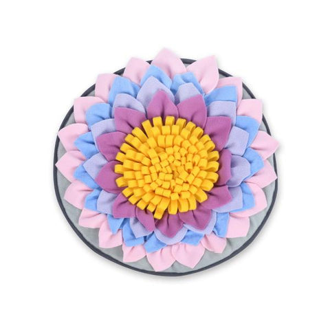 *** Lotus Flower Snuffle Mat-DoggyTopia