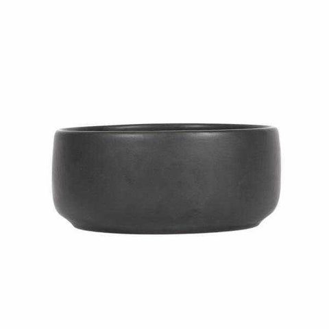 Mog & Bone Handmade Ceramic Dog Bowl - Black-DoggyTopia