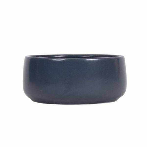 Mog & Bone Handmade Ceramic Dog Bowl - Navy-DoggyTopia