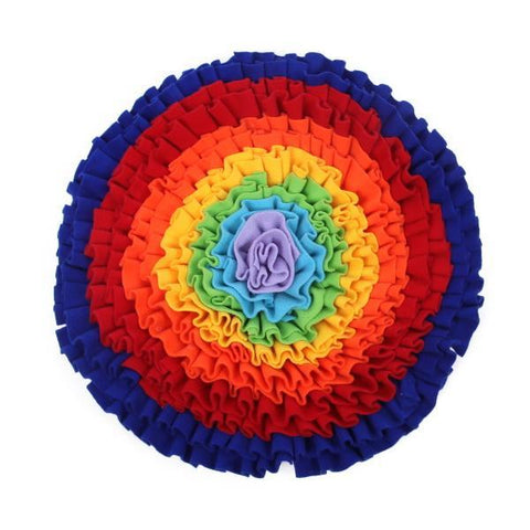 Image of *** Over The Rainbow Snuffle Mat-DoggyTopia