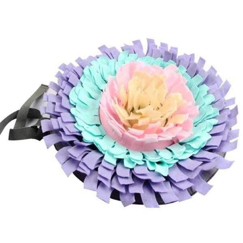 Image of Round Snuffle Mat-DoggyTopia