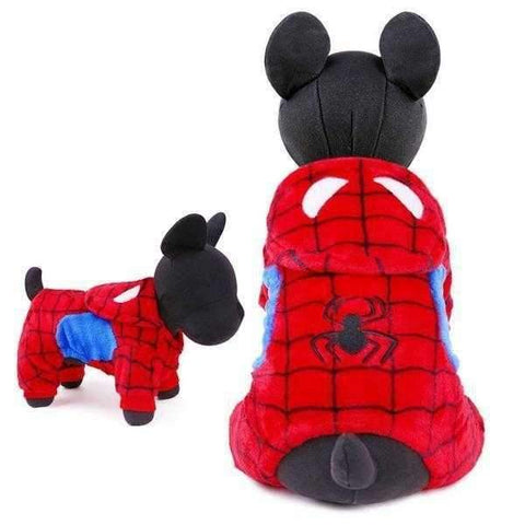 Image of Spiderdog Hoodie Jumpsuit-DoggyTopia
