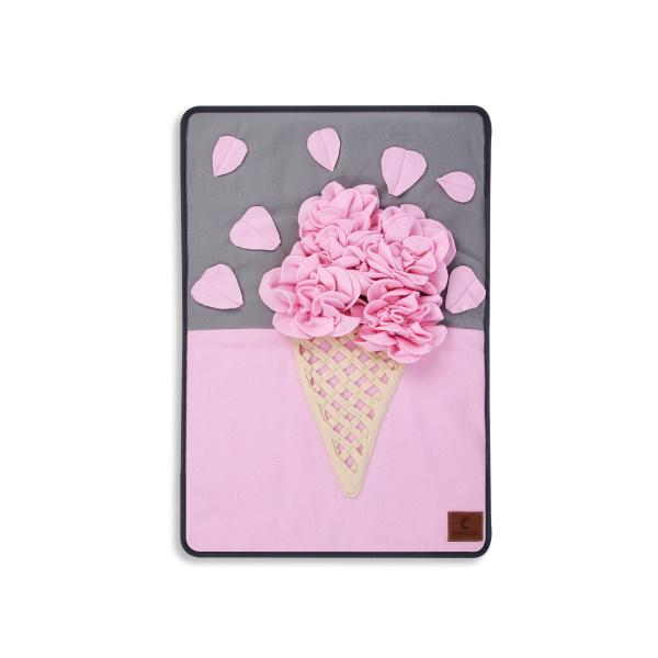 *** Strawberry Ice Cream Cone Snuffle Mat-DoggyTopia