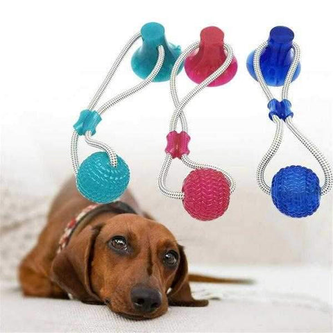 Suction Rope Ball Tug Toy-DoggyTopia