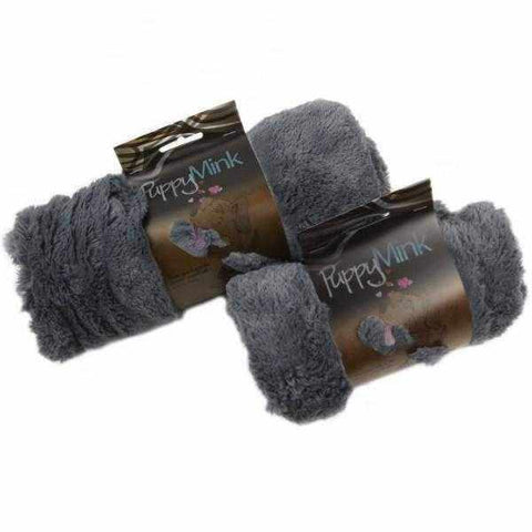 Image of T&S Puppy Mink Blanket - Grey-DoggyTopia