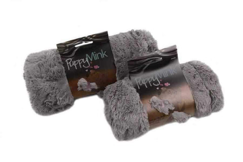 Image of T&S Puppy Mink Blanket - Mushroom-DoggyTopia