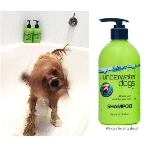 UNDERWATER DOGS Shampoo 500mL-DoggyTopia