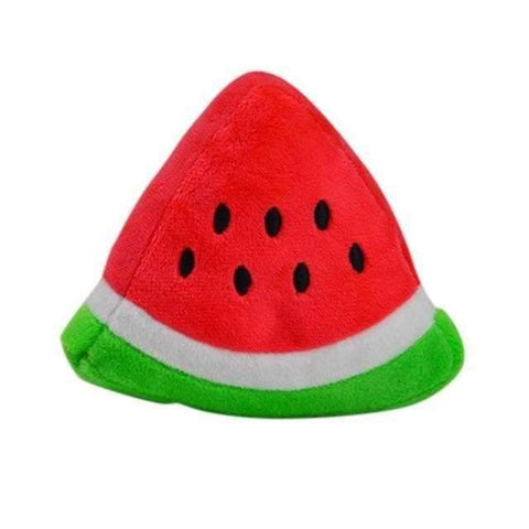 Watermelon Wedge Squeaker Dog Toy-DoggyTopia